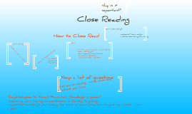 Copy of Close Reading