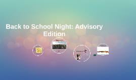 Back to School: Advisory Session