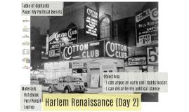 OLD Harlem Renaissance (Day 2)