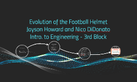 Evolution of the Football Helmet