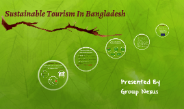 Sustainable Tourism In Bangladesh