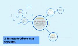 Copy of La Estructura Urbana y sus elementos