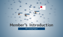 PCP Members Introduction