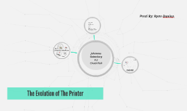 The Evolution of The Printer