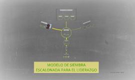 MODELO DE SIEMBRA ESCALONADA PARA EL LIDERAZGO