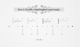 Part A: To Kill a Mockingbird novel study.