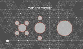 War and Morality