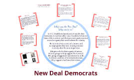 New Deal Democrat