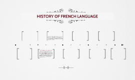 HISTORY OF FRENCH LANGUAGE