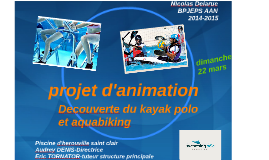 Copy of projet d'animation