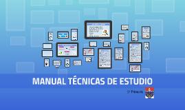 Manual técnicas estudio (5º Primaria)