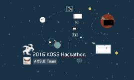 2016 KOSS Hackathon