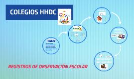 Copy of REGISTROS DE OBSERVACIÓN ESCOLAR 2017