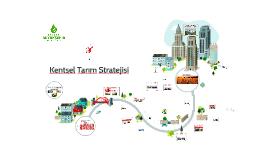 Kentsel Tarım Stratejisi