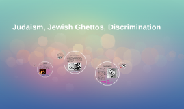 Judaism, Jewish Ghettos, Discrimination