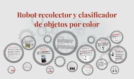 Copy of Robot recolector y clasificador de objetos por color