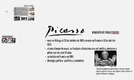 Biografía de Pablo Picaso