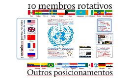 Simulação do Conselho de Segurança da ONU: Venezuela/2018