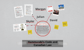 Hammurabi's Code and Canadian Law