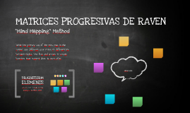 MATRICES PROGRESIVAS DE RAVEN