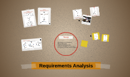 Lesson #6: Requirements Analysis