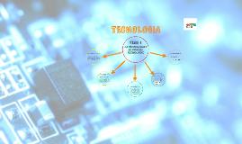 LA TECNOLOGIA I EL PROCÉS TECNOLÒGIC