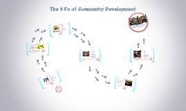The 6 I's of Community Development