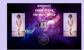 Copy of Nominate Anaya Lucas for prom