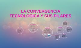 LA CONVERGENCIA TECNOLOGICA