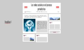 Las redes sociales en el proceso periodístico