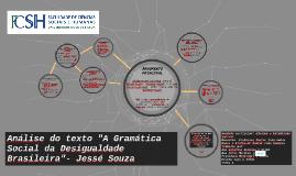 """Análise do texto """"A Gramática Social da Desigualdade Brasile"""