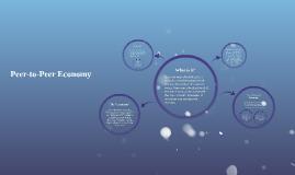 Copy of Peer-to-Peer Economy