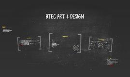 BTEC ART & DESIGN
