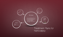 Treatment Plans for Narcolepsy