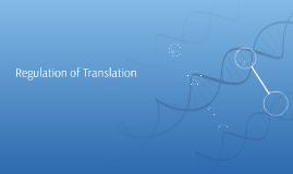 Regulation of Translation