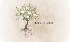 Let's Be Green