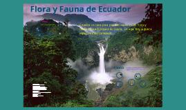 Flora y Fauna del Ecuador