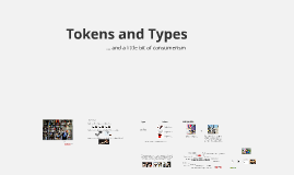 Tokens and Types