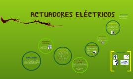 ACTUADORES ELECTRICOS