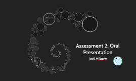 Assessment 2: Oral Presentation