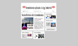 Termodinamica aplicada a la Ing. Industrial