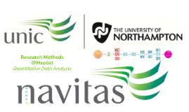 Week 9 - Quantitative Data Analysis
