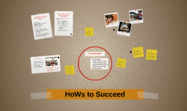Copy of HoWs to Succeed