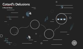 Cotard Delusions