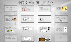 Chinese Characters Presentation