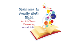 Hewitt-Texas Elementary Math Night - 2016