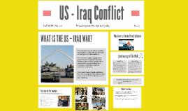 US - Iraq Conflict