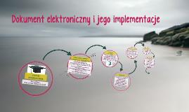 Dokument elektroniczny i jego implementacje