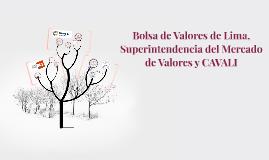 Bolsa de Valores de Lima,