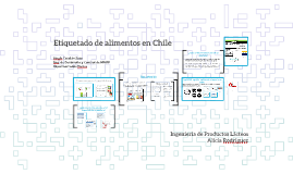 Etiquetado de Alimentos en Chile